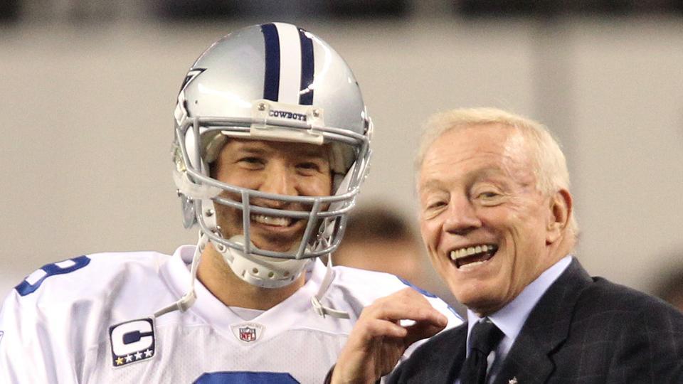 Cowboys owner Jerry Jones says Tony Romo is '100 percent'