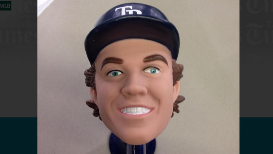 Rays' Wil Myers bike horn giveaway looks like a demon