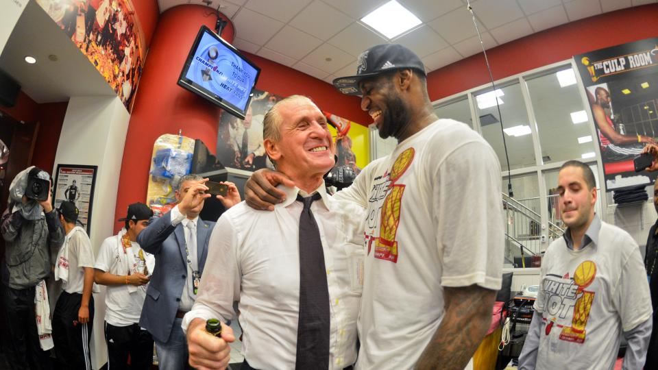 Report: Pat Riley 'shocked, but we recovered' from LeBron's decision