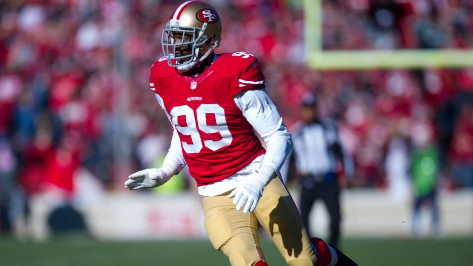 Report: 49ers' Aldon Smith to meet with Roger Goodell on Aug. 8