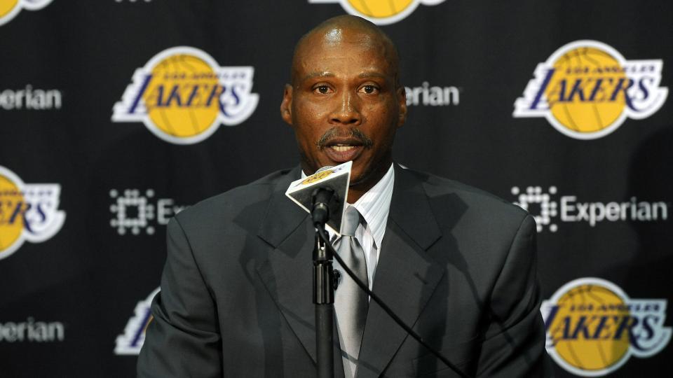 New Lakers coach Byron Scott.