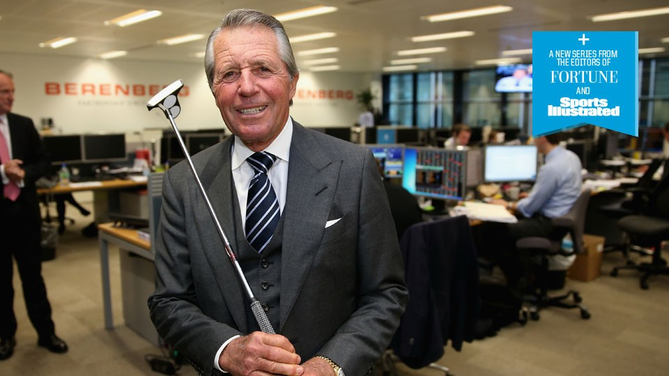 Former golf star Gary Player making mark as business tycoon
