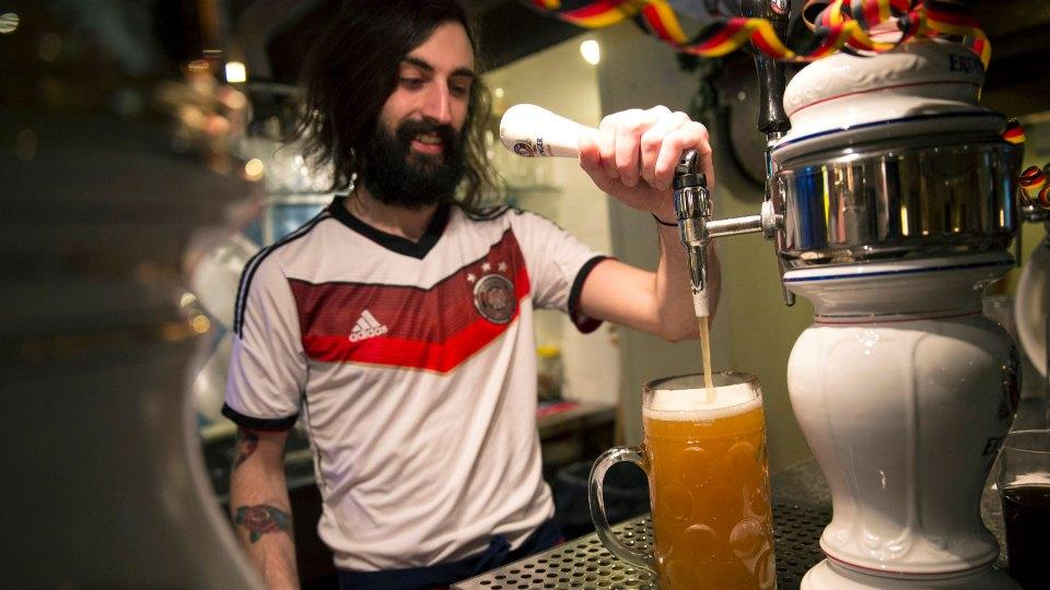 Surprise! The Germans drank a lot of beer during the World Cup