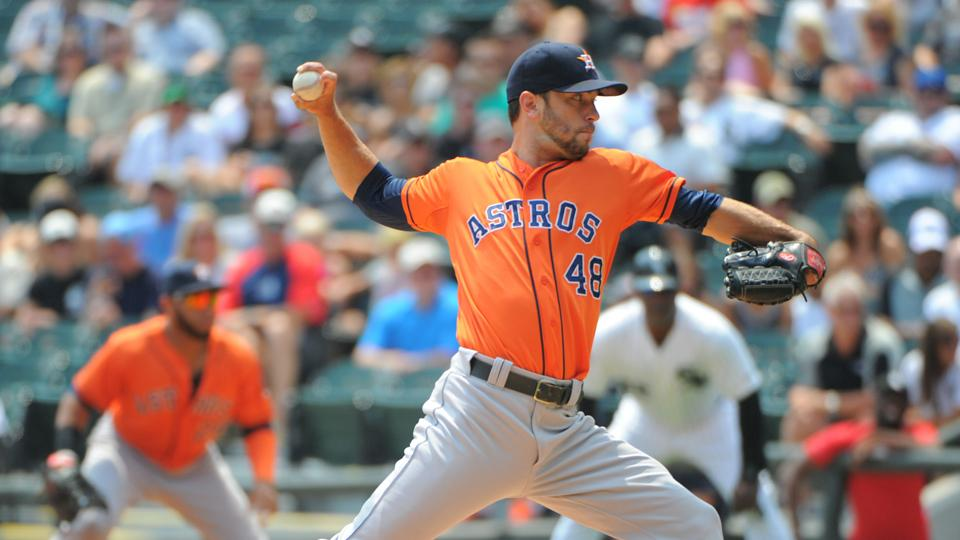 Report: Astros fielding calls for pitcher Jarred Cosart
