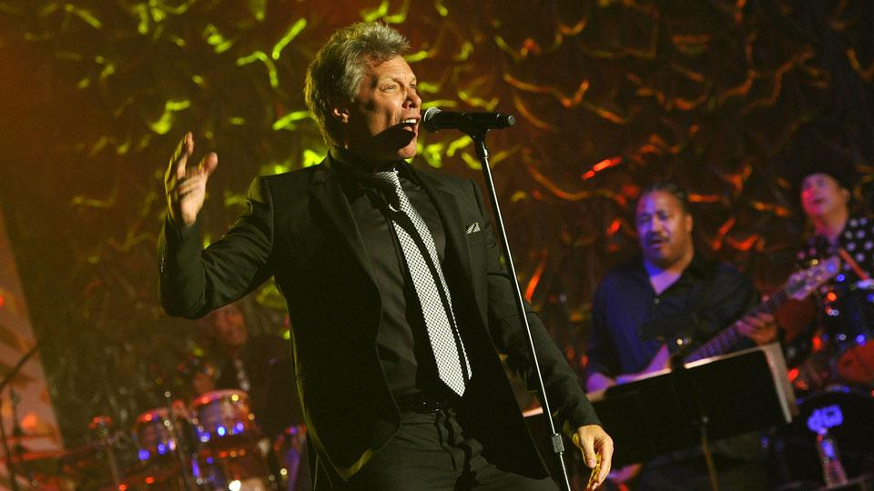 Jon Bon Jovi (pictured) and his Toronto group have reportedly submitted a bid on the Buffalo Bills