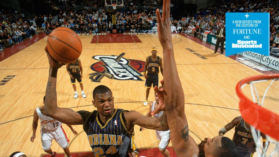 Former first-round pick Jonathan Bender goes from NBA to inventor