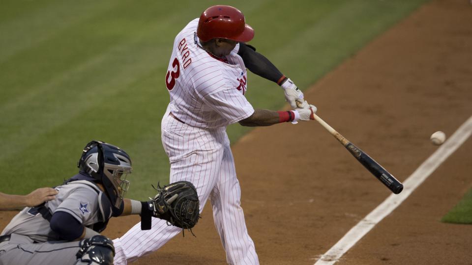 Report: Philadelphia Phillies asking for big return for Marlon Byrd