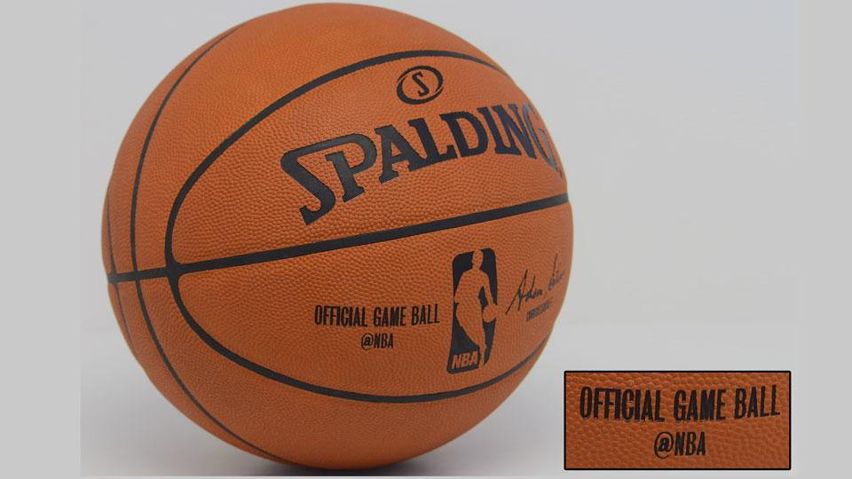 NBA adds Twitter handle to official Spalding game ball