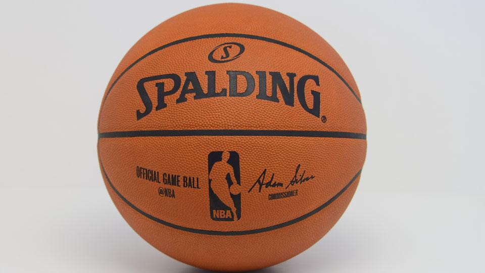 @NBA Twitter handle added to basketballs used in games, retail