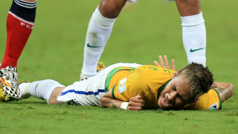 Neymar says injured back is almost 100 percent