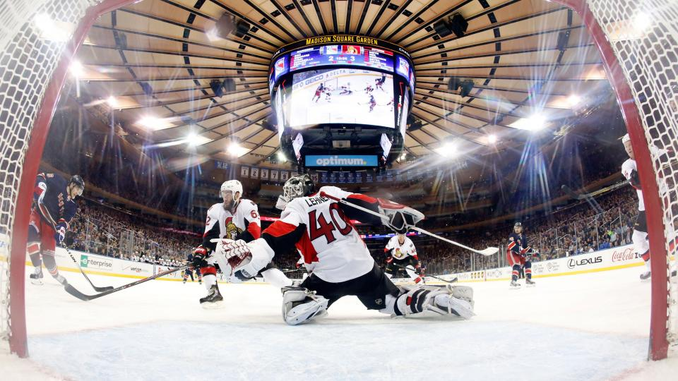 Senators re-sign goalie Robin Lehner to three-year contract