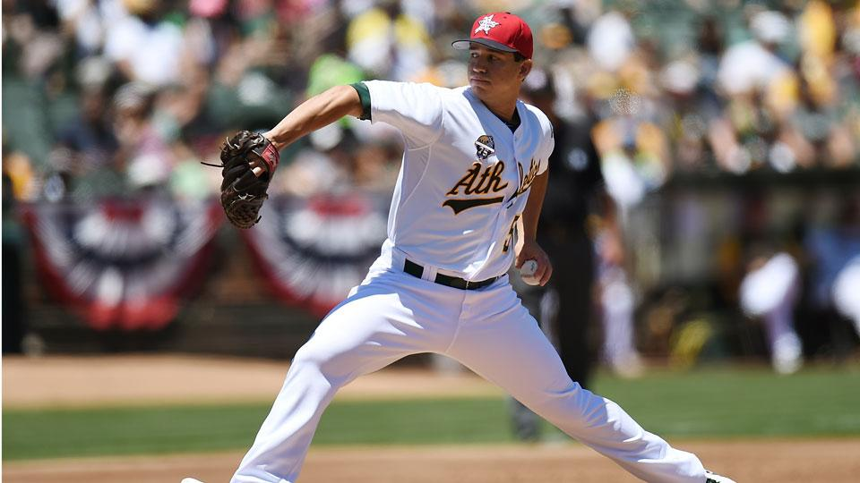 Athletics deal Tommy Milone to Twins for Sam Fuld