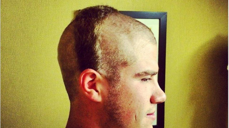 Redskins gave their rookie kicker a great haircut
