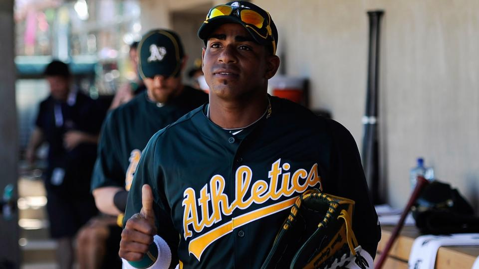 The A's now have 10,000 worthless t-shirts after the Yoenis Cespedes trade