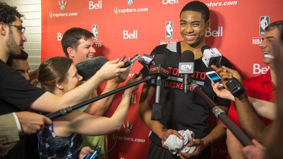 How the Raptors found — and fell in love with — Bruno Caboclo