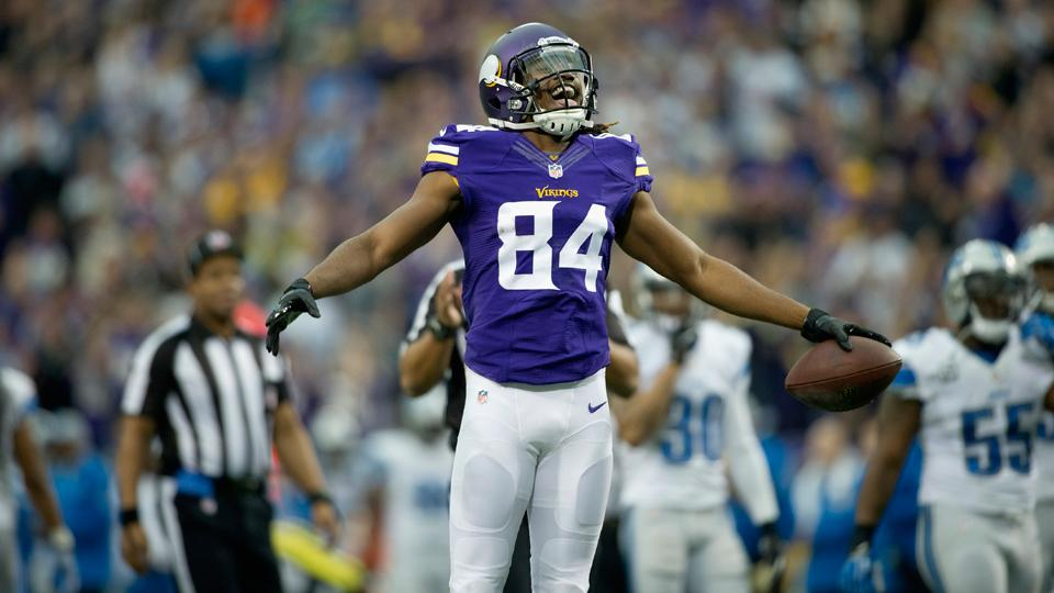 Vikings' Greg Jennings: Cordarrelle Patterson has 'no ceiling'