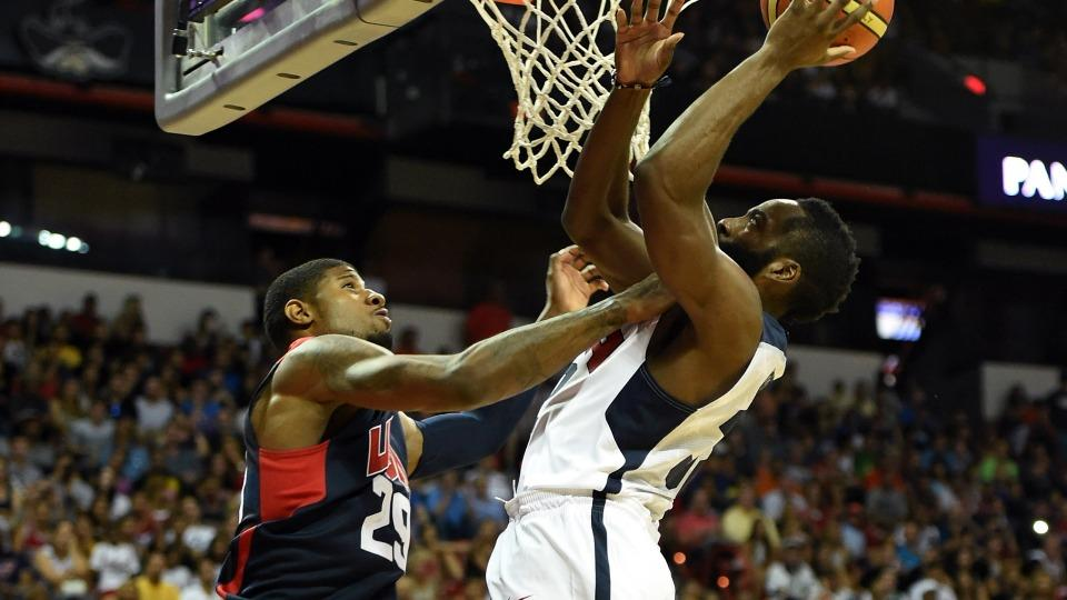 Pacers' Paul George suffers severe leg injury in Team USA scrimmage