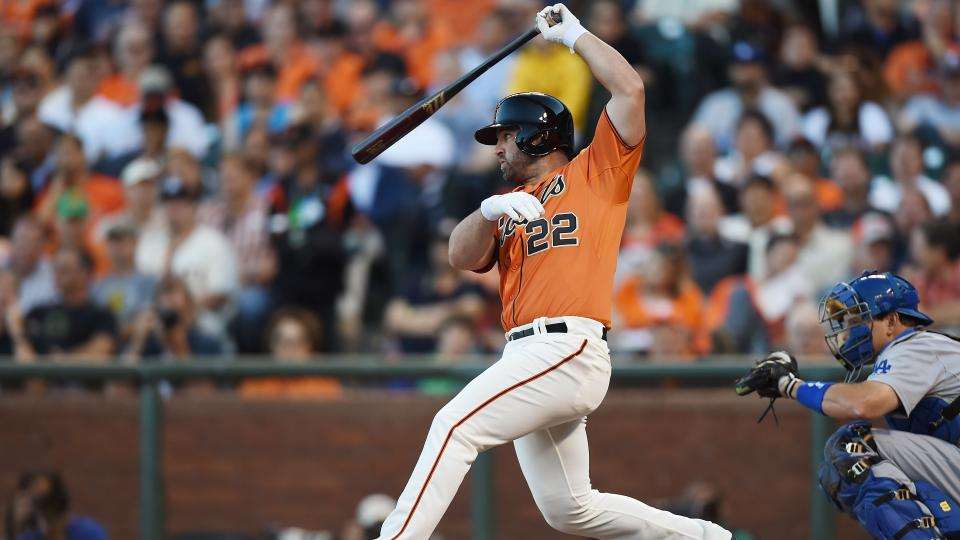 Giants' Dan Uggla and Tyler Colvin designated for assignment