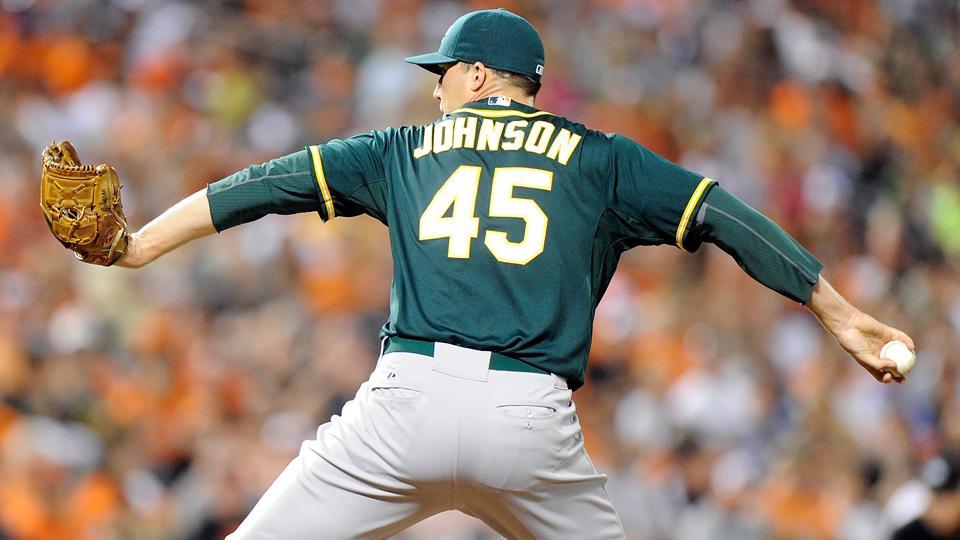 Oakland A's release Jim Johnson