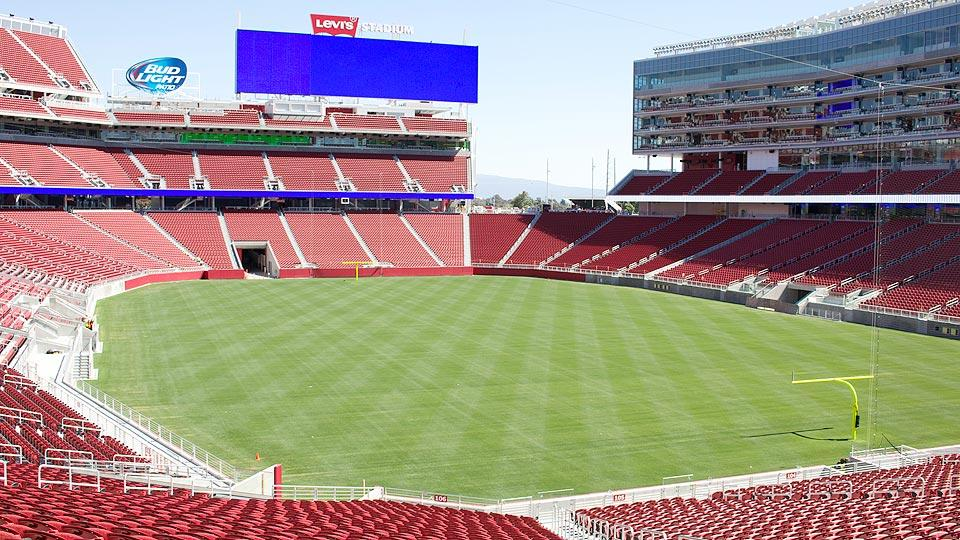Inside 49ers' new home, Levi's Stadium, a venue unlike any other