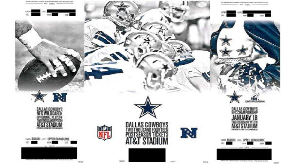 The Dallas Cowboys are very confident about this season, have already sent out playoff tickets
