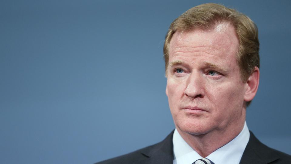 NFL commissioner Roger Goodell addresses Ray Rice suspension