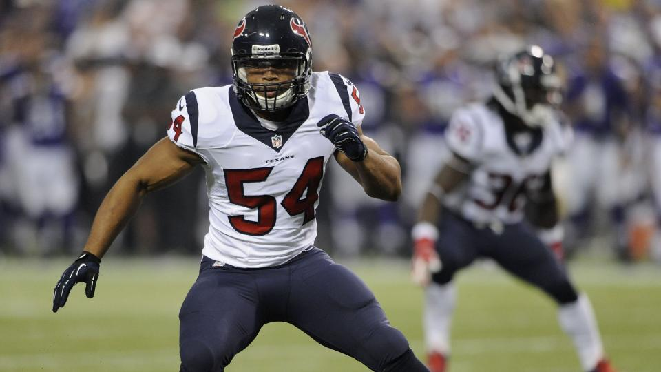 Texans cut 2013 fourth-round pick Trevardo Williams