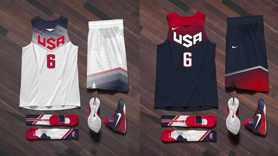 Nike unveils USA Basketball uniforms for 2014 FIBA World Cup