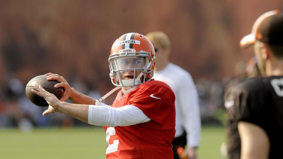 Johnny Manziel reportedly 'narrowed the gap' for Browns' starting QB