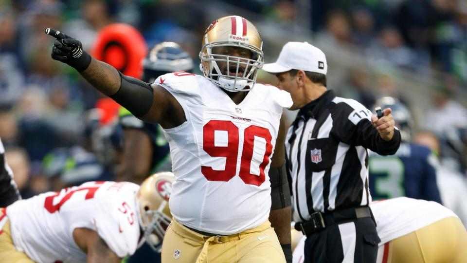 Report: 49ers DT Glenn Dorsey out for season with torn biceps