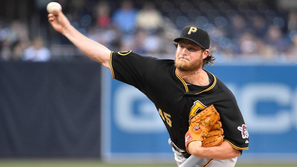 Pirates' Gerrit Cole scratched from rehab start