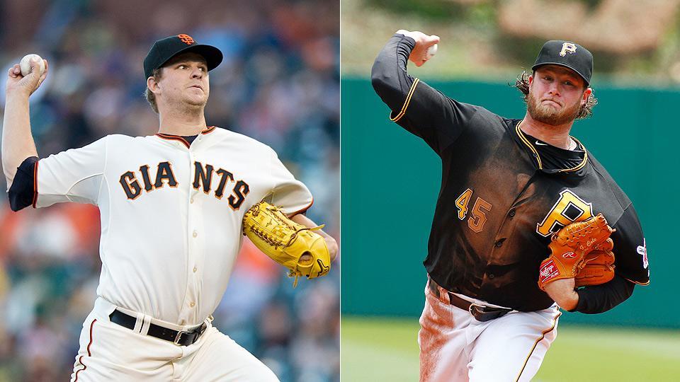 Giants' Matt Cain, Pirates' Gerrit Cole headline notable MLB injuries