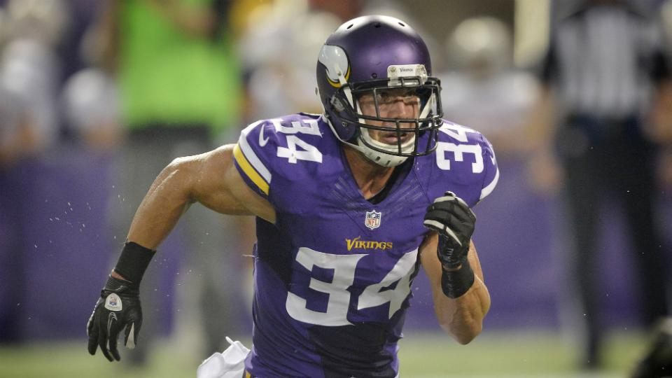 Vikings activate safety Andrew Sendejo off PUP list
