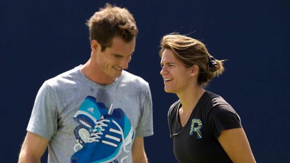Andy Murray says Amelie Mauresmo will be coach 'long term'