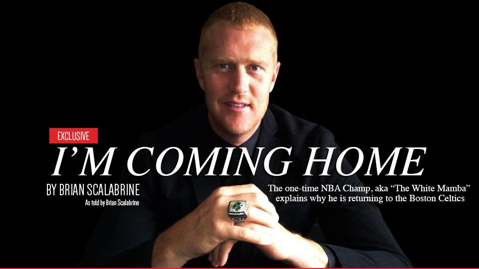 Brian Scalabrine posts parody of LeBron James' 'I'm Coming Home'