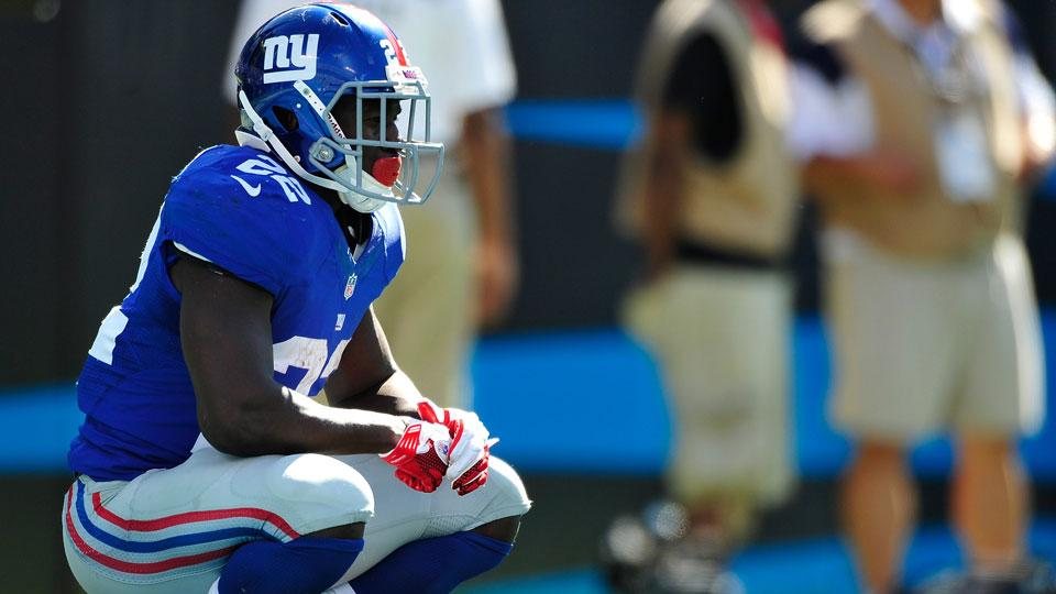 Report: Giants shut down David Wilson, fear career could be over
