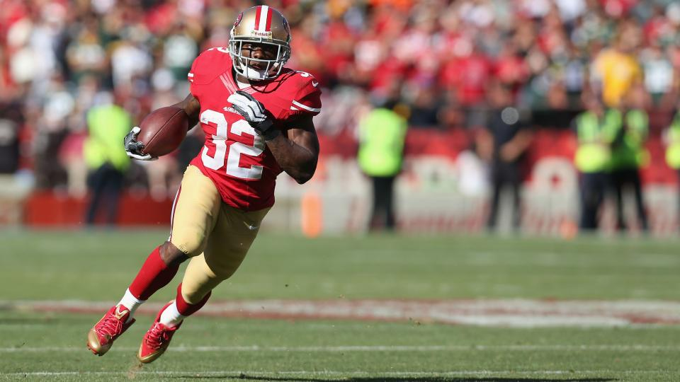 49ers waive/injured running back Kendall Hunter