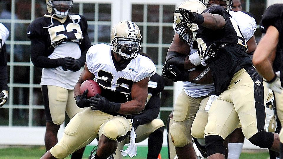 Mark Ingram enters contract year at heart of Saints' growing ground game