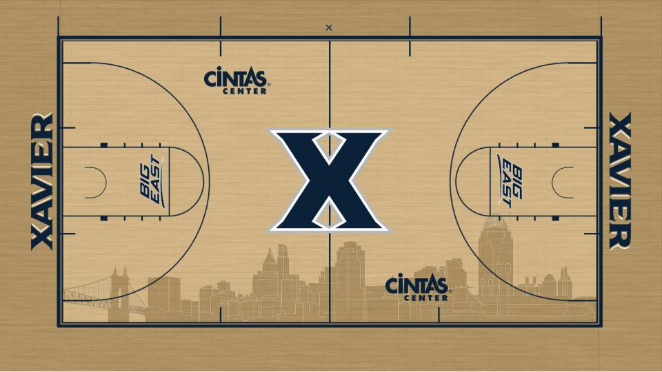 Xavier unveils new basketball court