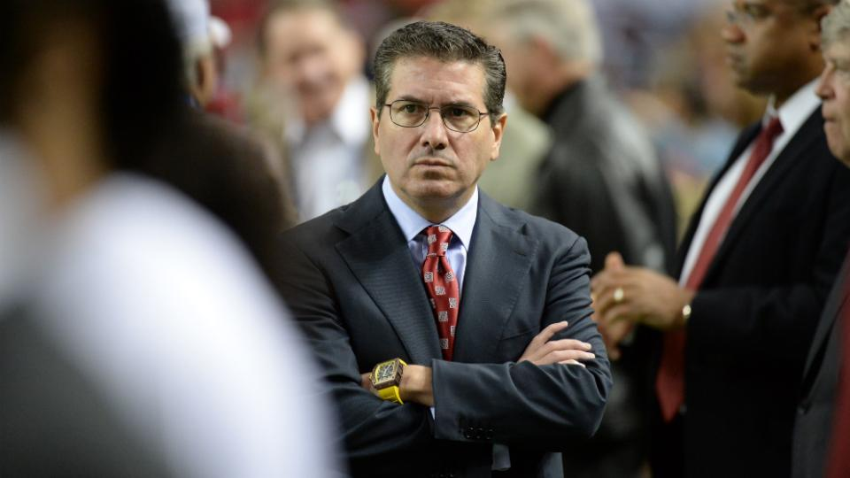 Dan Snyder defends 'Redskins' again, says Native Americans 'love this team'