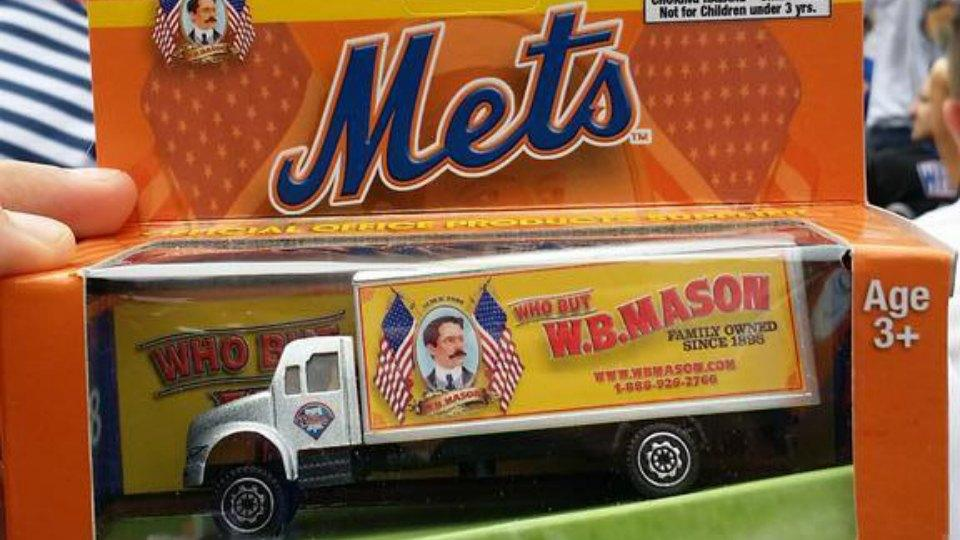 Mets accidentally give away toys with Phillies logo