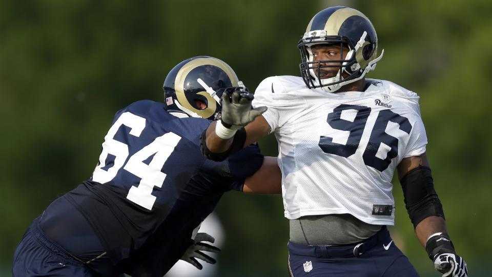St. Louis Rams release depth chart: Michael Sam third string at DE