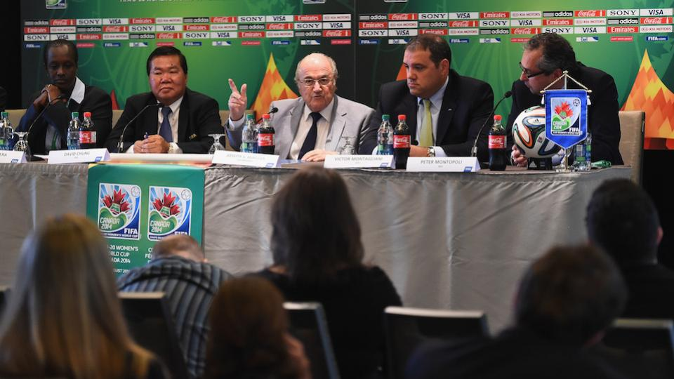 FIFA's Blatter: Sport has trouble accepting women in management