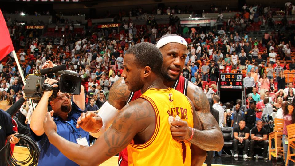 LeBron reportedly told Dion Waiters 'be ready' before announcing return