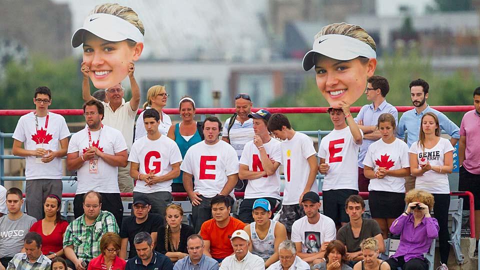 Despite massive crowd support, Eugenie Bouchard couldn't overcome Shelby Rogers in the Rogers Cup, falling 0-6, 6-2, 0-6.