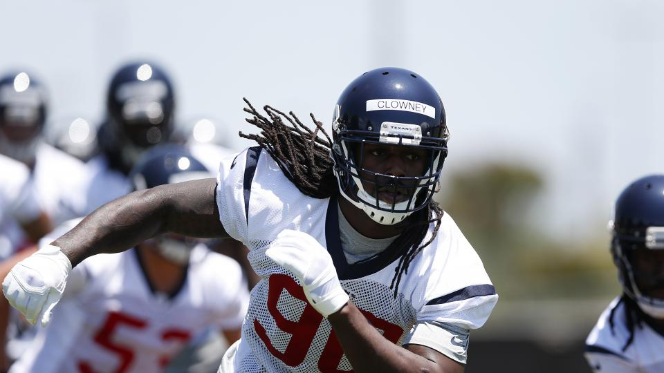 Houston Texans release depth chart: Jadeveon Clowney a starter at OLB