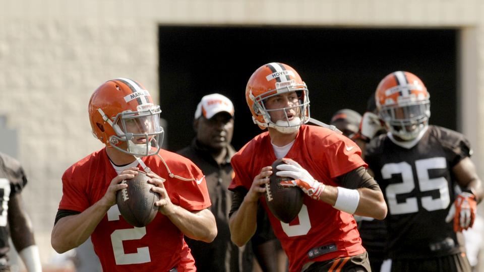 Report: Browns' Brian Hoyer to start preseason opener against Lions