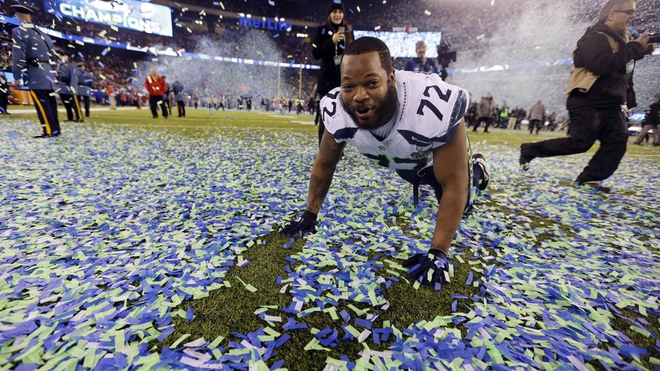 Michael Bennett re-signed with the Seahawks in the offseason.
