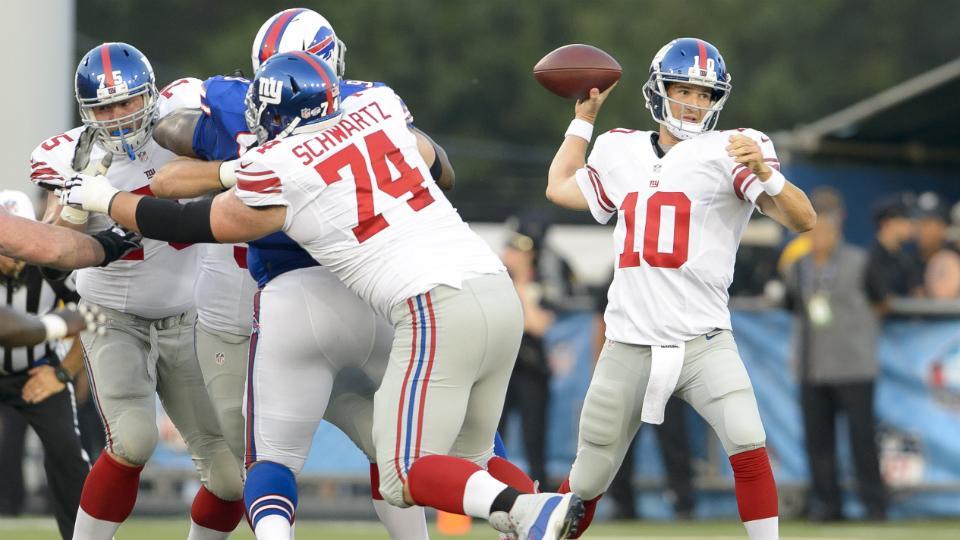 New York Giants release depth chart: Peyton Hillis is No. 2 back