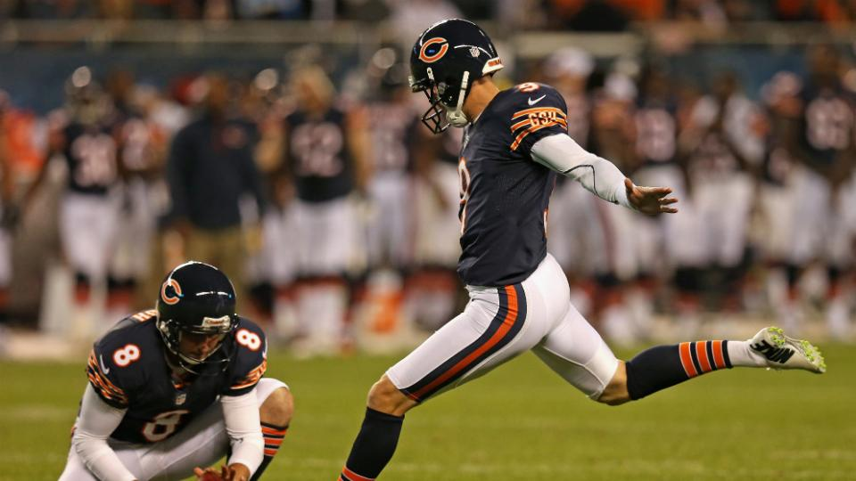 Bears kicker Robbie Gould doesn't support longer extra points